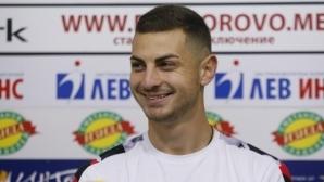 Милчо Ангелов попадна в групата на Етър за мача със Славия