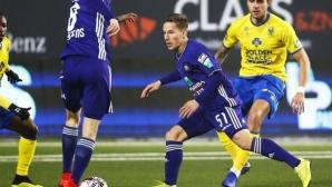 Андерлехт остана без победа и след третия кръг
