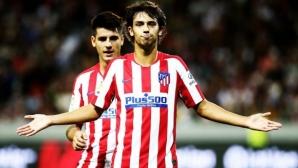 Жоао Феликс засенчи Роналдо, а Атлетико надхитри Ювентус (видео)