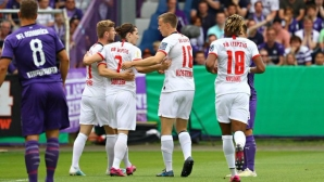 РБ Лайпциг с трудна победа за Купата (видео)