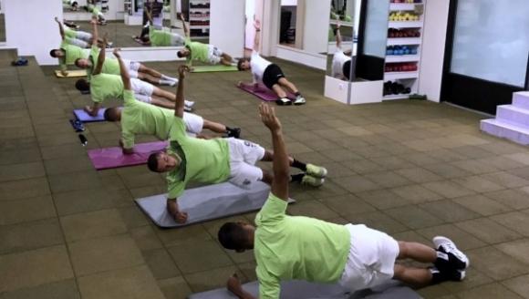 Черно море с тренировка във фитнеса