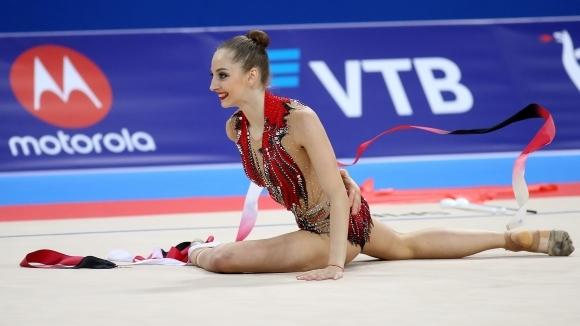 Боряна Калейн не успя да вземе медал във финалите на индивидуалните уреди