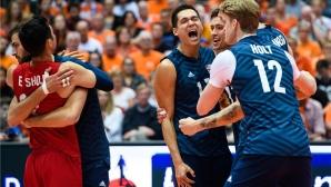 Олимпийска радост за САЩ в Ротердам (видео + снимки)