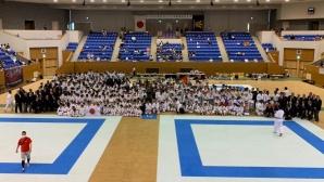 Български отбор по карате се завърна от Япония с общо 12 медала