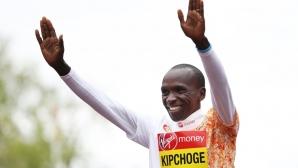 """Кипчоге сравни бягане под 2 часа в маратона със """"стъпване на Луната"""""""