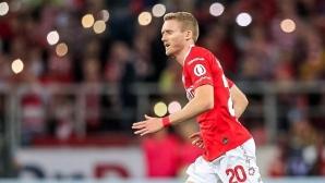 Шюрле отново блести за Спартак (Москва) в Лига Европа