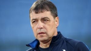 Хубчев: Влязохме сериозно в мача, няма да бързаме с Холмар