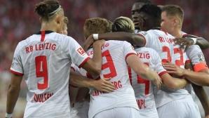 Унион се заяде с Лайпциг и претърпя кошмарен дебют в Първа Бундеслига