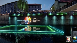 Словения промотира Евро 2019 с волейбол на река (видео)