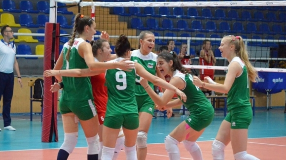 Волейболистките на България под 18 години се класираха за полуфиналите на Балканиадата