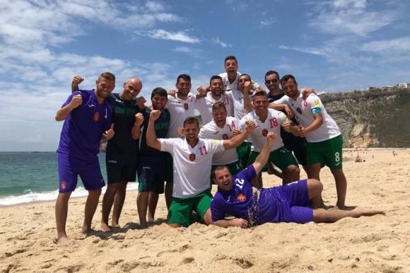 България срещу Азербайджан, Чехия и Румъния във финалите на Евролигата по плажен футбол