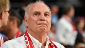 Хьонес потвърди, че вече няма да е президент Байерн