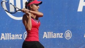 Минимален прогрес за Томова в ранглистата на WTA