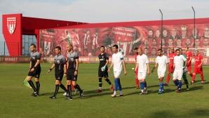 Стадионът на Царско село взе частичен лиценз, този в Бистрица - пълен