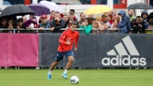 Коутиньо тренира за първи път с Байерн