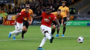 Погба спира да бие дузпи за Ман Юнайтед