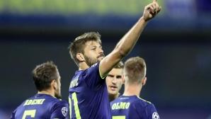 Динамо (Загреб) взе солидна преднина срещу Розенборг (видео)
