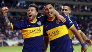 Бока Хуниорс на крачка от полуфинал след разгром в Еквадор