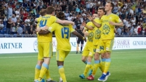 Астана е с единия крак в групите на Лига Европа (видео)