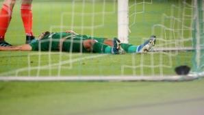 Лудогорец 0:0 Марибор, пропуск след пропуск за българите