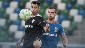 Карабах загуби, но остава в играта, Славчев не игра (видео)