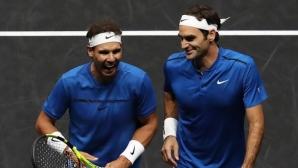 Федерер обясни защо Надал е труден съперник за него и в какво е добра съпругата му Мирка