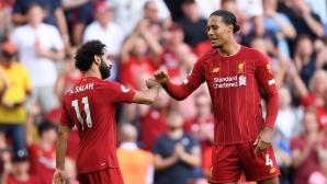 Ливърпул 3:0 Арсенал, Салах с два гола (гледайте тук)