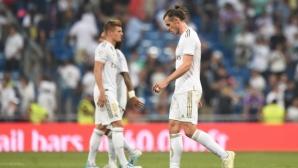Хамес и Бейл титуляри за Реал Мадрид