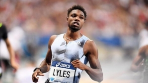 Ноа Лайлс спечели спринта на 200 метра в Париж с второ време за годината
