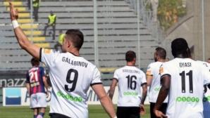 Гълъбинов с отличен старт на сезона в Италия (видео)