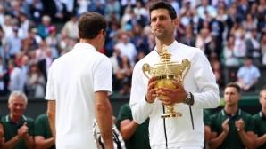 Джокович: Рекордът по титли на Федерер е една от целите ми