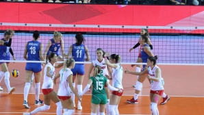 България тръгна отлично, но взе само гейм на Сърбия на Евроволей 2019 (снимки)