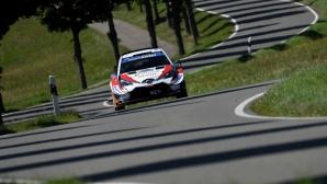 Танак триумфира на рали Германия и затвърди амбициите си за WRC титла