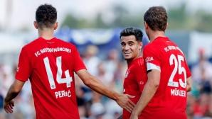 Коутиньо и Перишич вкараха първите си голове за Байерн (видео)