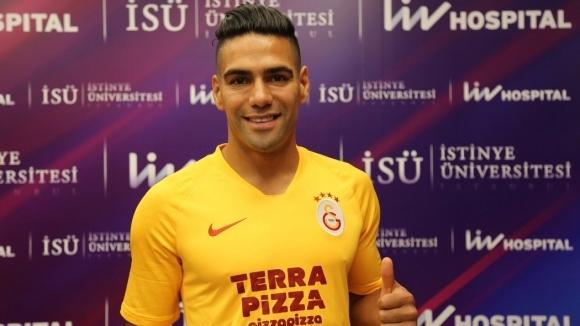 Официално: Фалкао вече е играч на Галатасарай