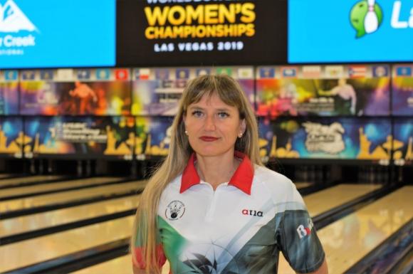 Марина Стефанова в Топ 100 на Световното първенство по боулинг в Лас Вегас