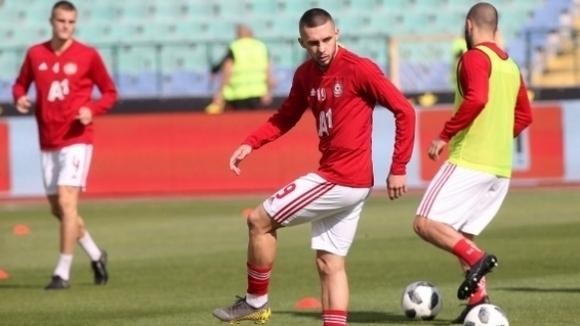 Иван Турицов тренира наравно със съотборниците си