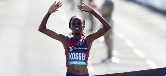 Косгей подобри световния рекорд в полумаратона
