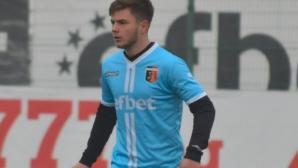 Национал дебютира за Спартак (Вн) в мача за Купата в Свищов