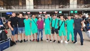 Класическите ни борци пристигнаха в Казахстан на подготовка за Световното първенство