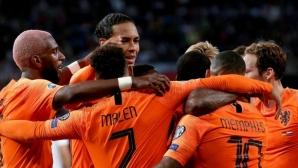 Холандия прониза Германия за атрактивен обрат в Хамбург (видео + галерия)