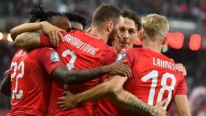 Австрия разгроми Латвия на Славиша Стоянович (видео)