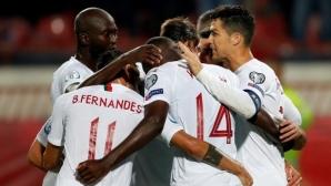 Европейският шампион си тръгна от Белград с първа победа в квалификациите (видео)