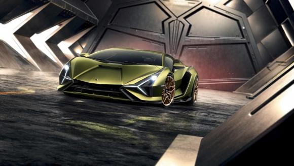 Великолепният Lamborghini Sián