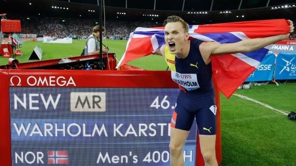Вархолм и Клостерхалфен са най-добрите атлети в Европа за август