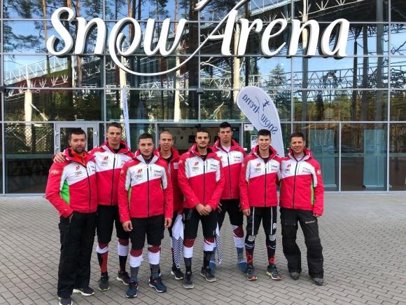 Националите с втори лагер на сняг