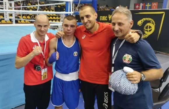 Две титли и сребро за младите ни боксьори на Европейското в София