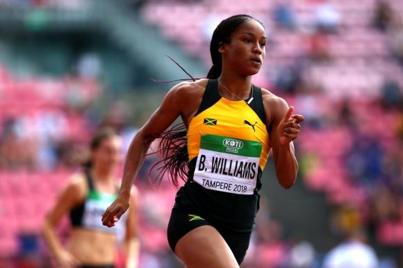 Ямайка включи Бриана Уилямс в състава за Световното, въпреки положителния допинг тест