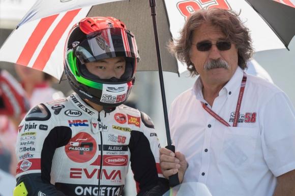 """Сузуки триумфира на """"Мизано"""" и посвети победата си на Марко Симончели"""
