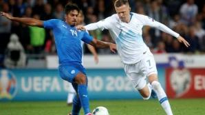 Гол в последната минута изкачи Словения на позиция за класиране